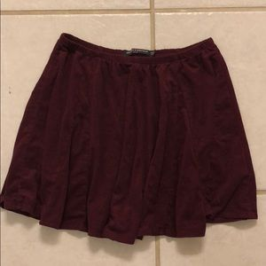 Brandy Melville Maroon Skirt!